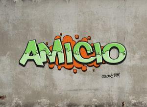 AmiciO Graffiti-klein