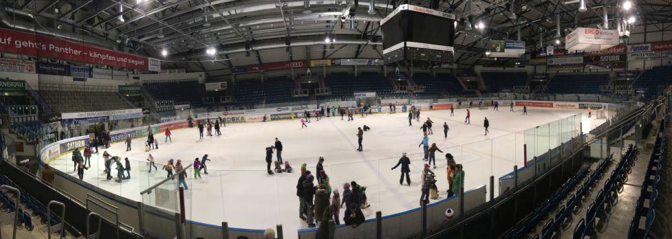 Panorama Eislauf